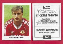 Manchester United Clayton Blackmore Wales 166